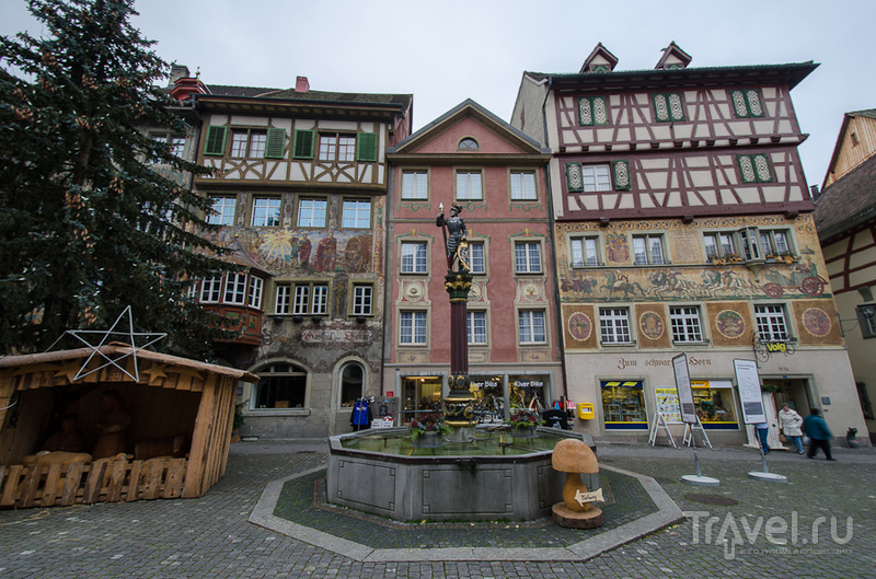 Швейцарские заметки. Хмурый Штайн-ам-Рейн / Фото из Швейцарии