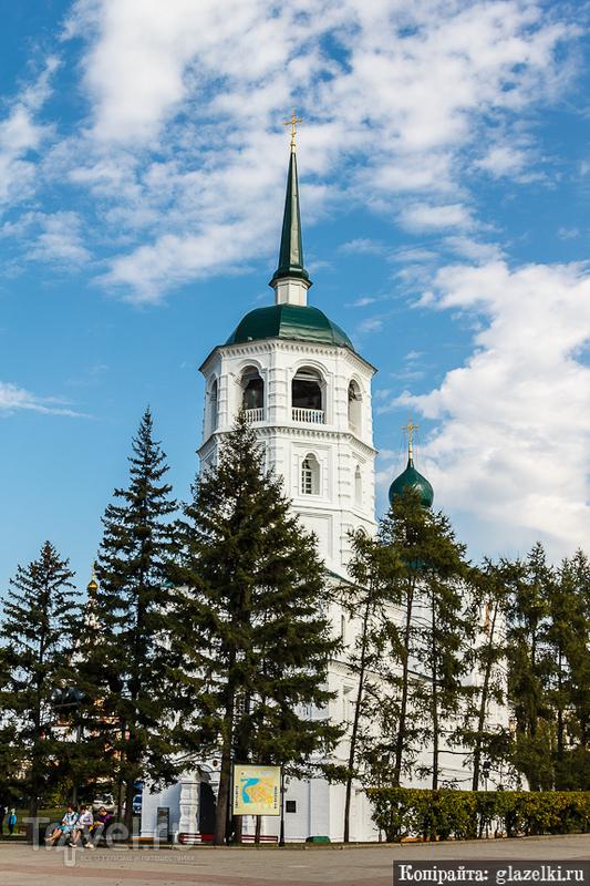 Спасская церковь в Иркутске / Фото из России