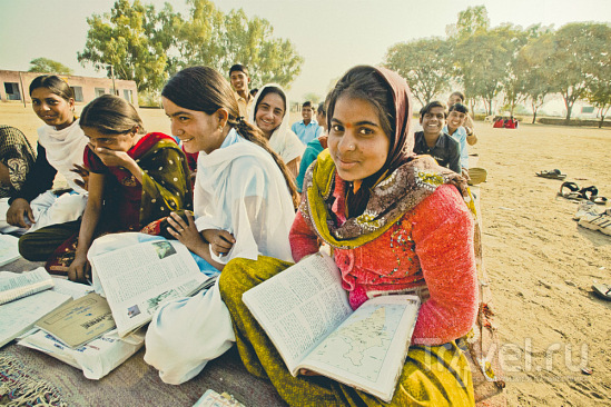 В индийской школе / Индия