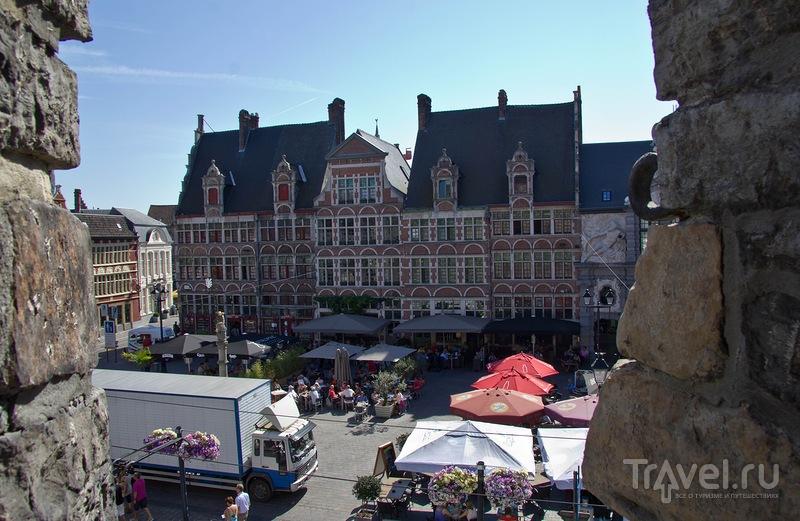Площадь Веерплейн в Генте / Фото из Бельгии