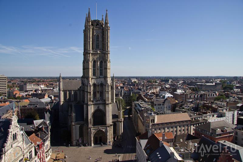 Собор Святого Бавона в Генте / Фото из Бельгии