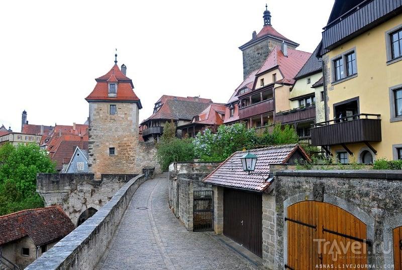 Ротенбург-на-Таубере / Фото из Германии