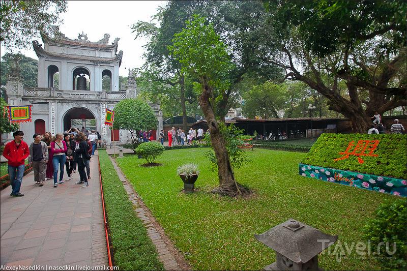 Храм литературы им. Конфуция, Ханой / Фото из Вьетнама