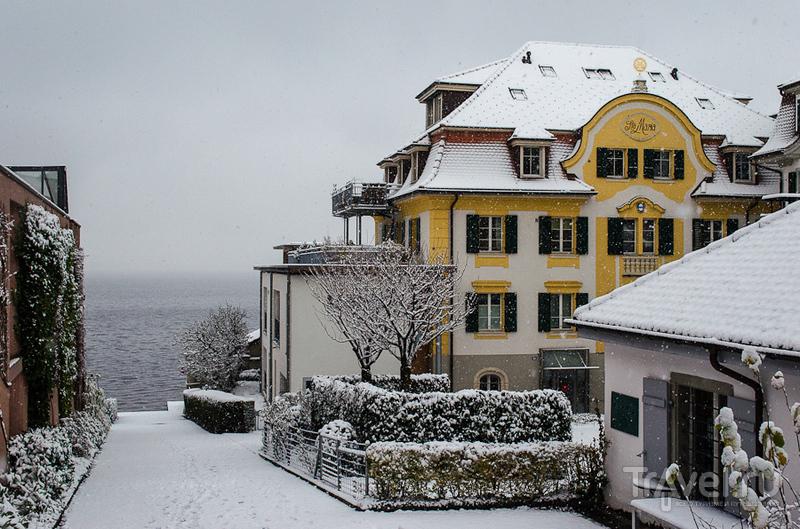 Швейцарские заметки. Заснеженный Цуг / Швейцария