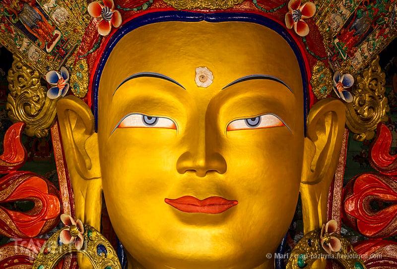 Будда Матрейя / Фото из Индии
