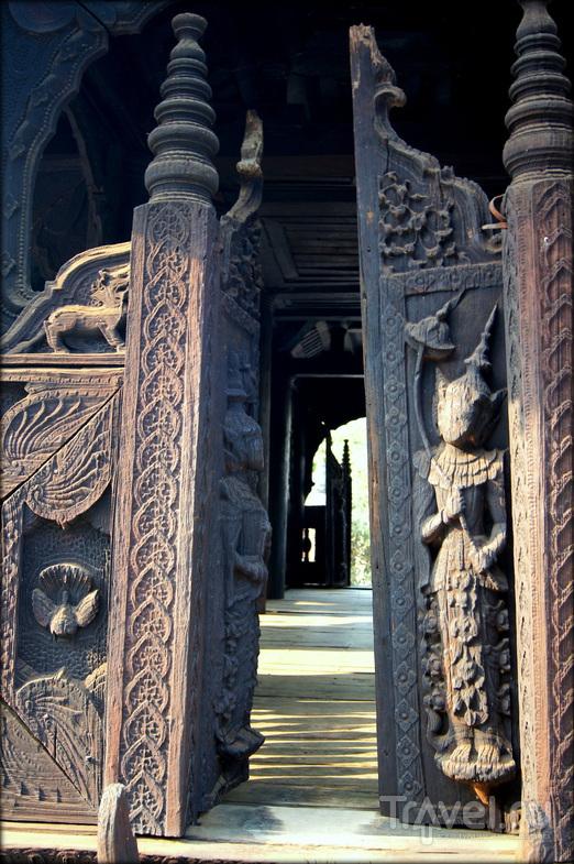 Монастырь Багайя в Инве, Мьянма / Фото из Мьянмы