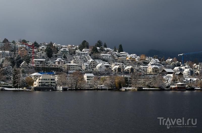 Швейцарские заметки. Цюрихское озеро / Швейцария