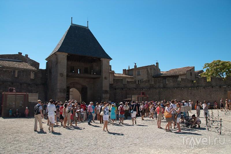 Графский замок в Каркасоне / Фото из Франции