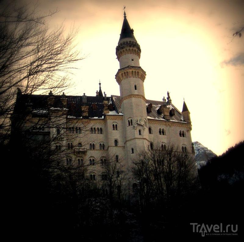 Замок Людвига II, короля Баварии и ролевика / Германия