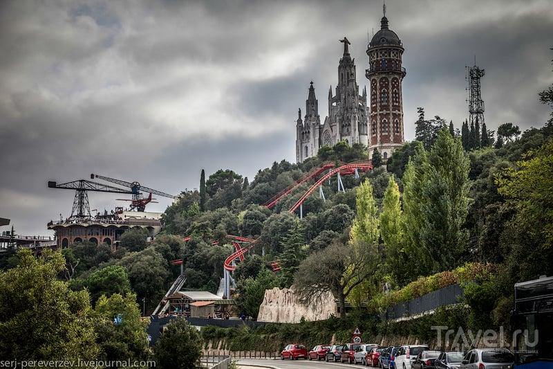 Храм Святого Сердца Христова в Барселоне / Фото из Испании