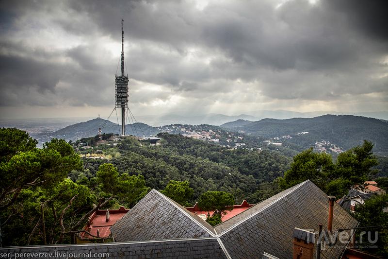 Телевизионная башня в Барселоне / Фото из Испании