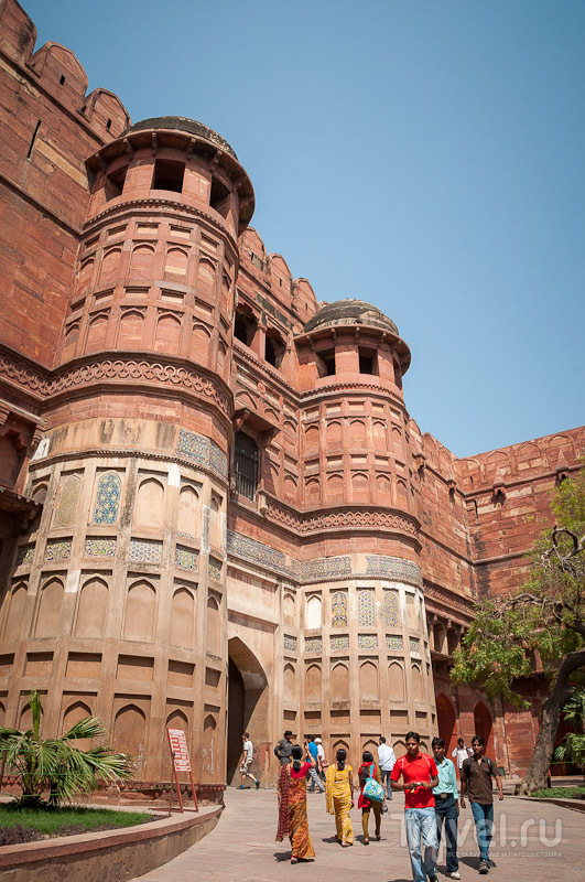 Агра. Тадж-Махал и окрестности / Индия