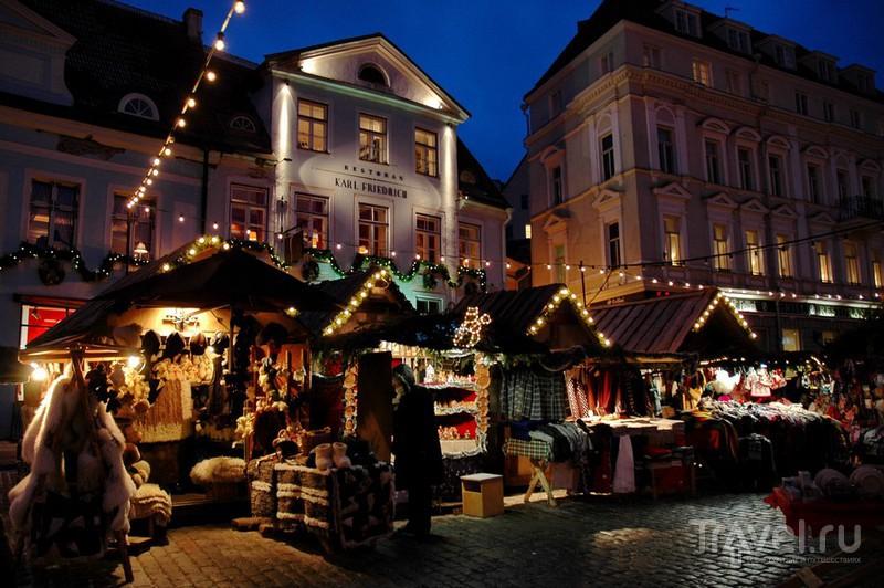 Сказочный рождественский Таллин / Эстония