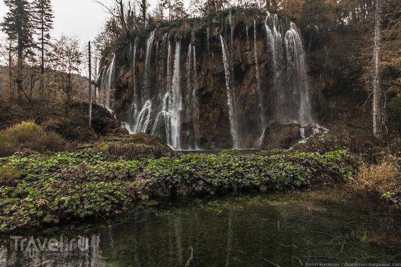 Водопад Галовачки в Хорватии / Фото из Хорватии