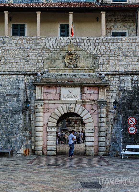 Морские ворота в Которе, Черногория / Фото из Черногории