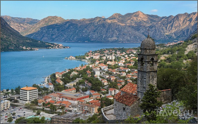Часовня Спасения Богородицы в Которе, Черногория / Фото из Черногории
