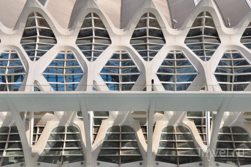 Картинки из Испании. Современная архитектура в Валенсии / Испания