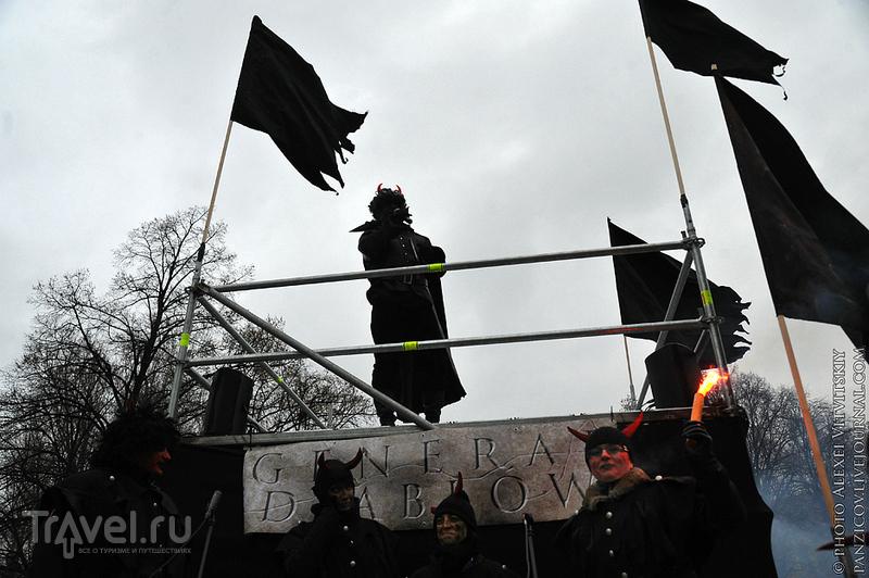 Шествие трёх королей в Варшаве 06.01.2013 / Польша