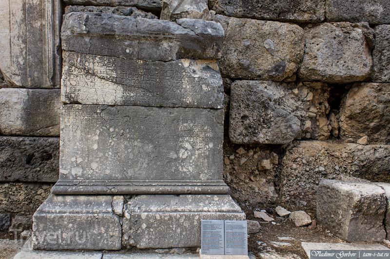 Что посмотреть в Турции: античный город Фаселис / Турция