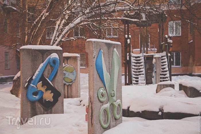 Новосибирские дворики / Россия