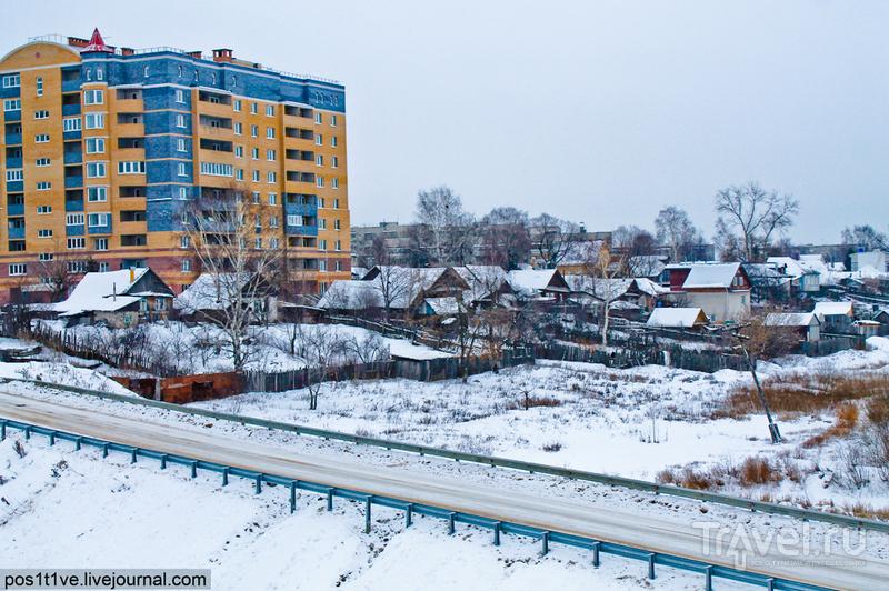В городе Бор, Россия / Фото из России