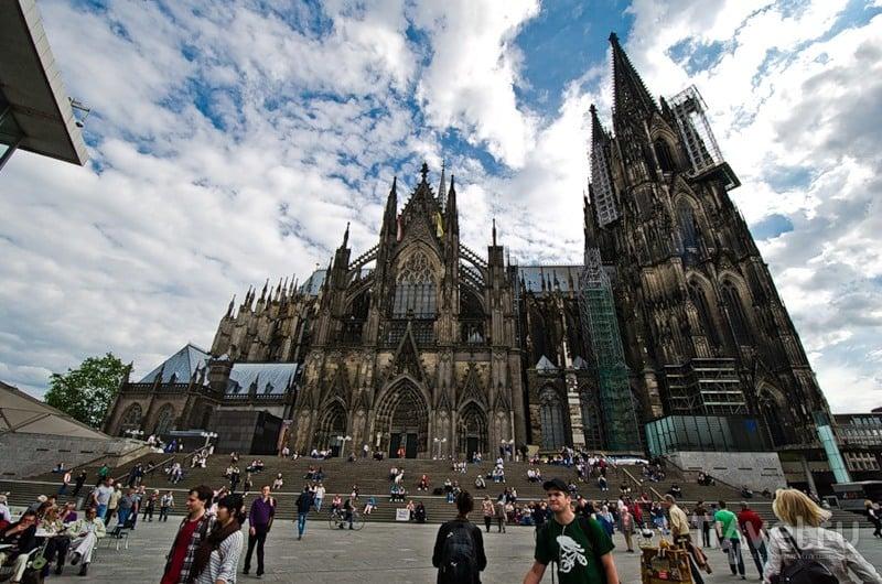 Кельнский кафедральный Собор Пресвятой Богородицы и Святого Петра / Фото из Германии