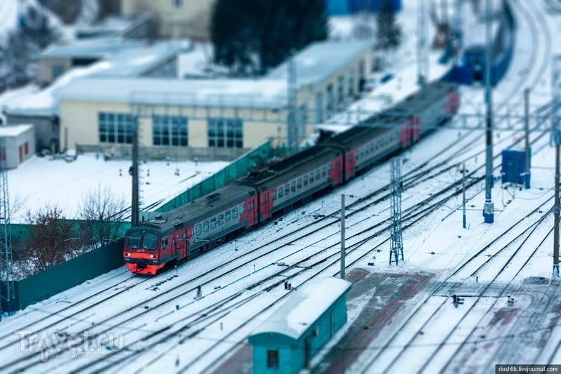 Самый высокий вокзал в Европе и виды с его смотровой площадки / Россия