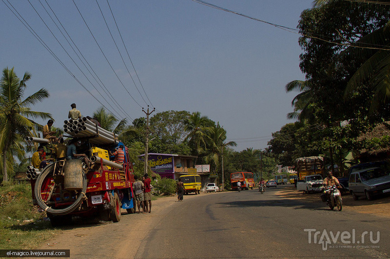 Дорога до самой южной точки Индии. Вечерний Каньякумари / Фото из Индии