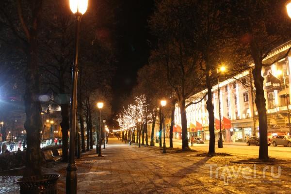 Ночной Осло / Норвегия
