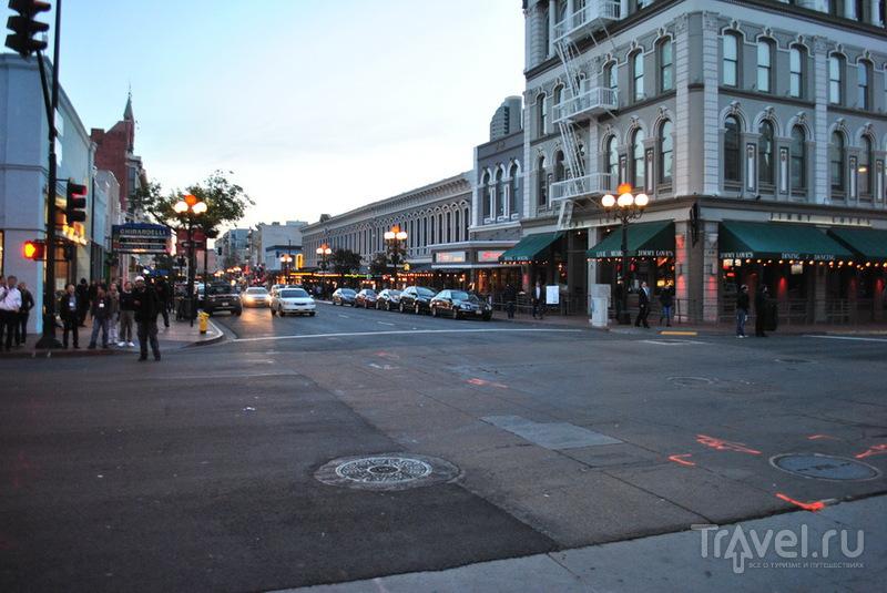 5-я авеню в Сан-Диего, США / Фото из США