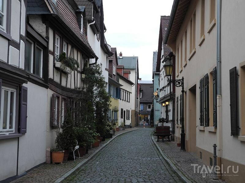 Улицы старого Хёхста (Франкфурт на Майне) / Германия