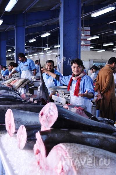 ОАЭ. Рыбный рынок / ОАЭ