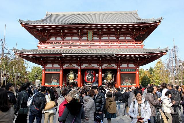 Храм Кинрюсан-Сэнсодзи в Токио / Фото из Японии