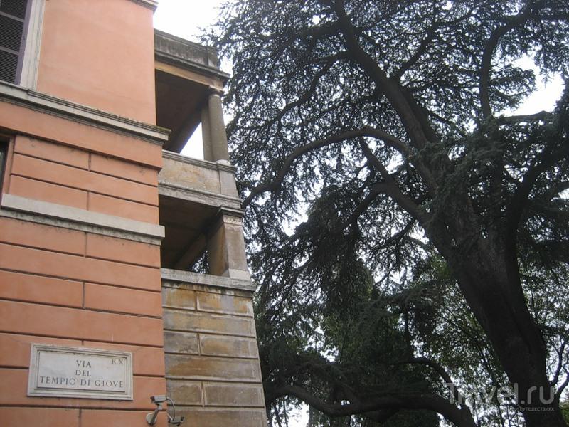 Фундамент небесной тверди. Храм Юпитера Капитолийского / Италия