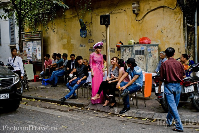 Прогулка по улицам Ханоя / Вьетнам