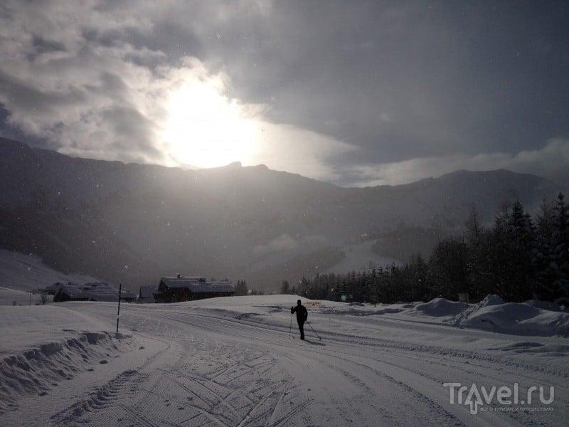 Беговые лыжи в Альпах. Вторая серия / Франция