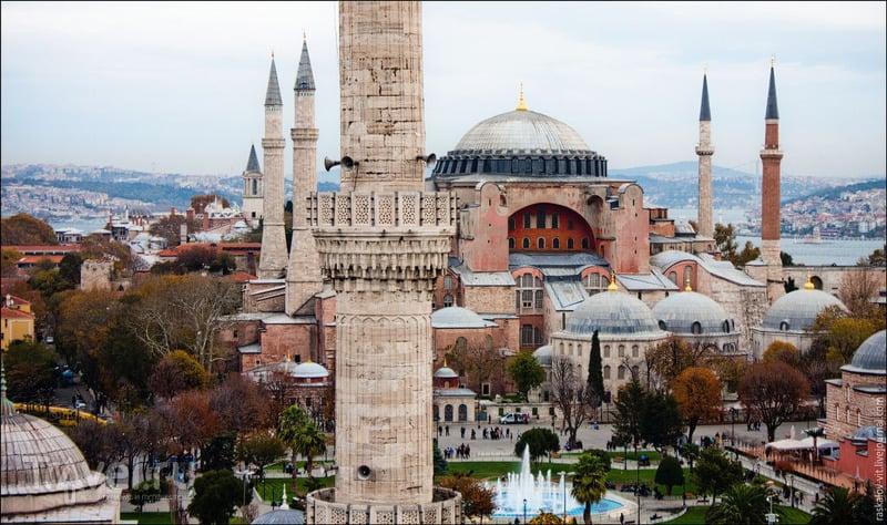 Айя-София в Стамбуле / Фото из Турции