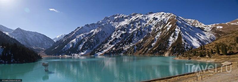 Большое Алматинское озеро и окрестности / Фото из Казахстана