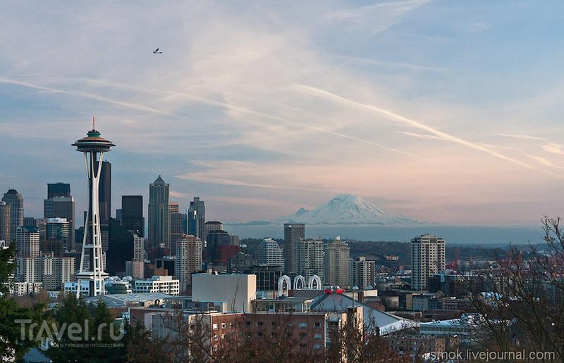 Space Needle в Сиэтле / Фото из США