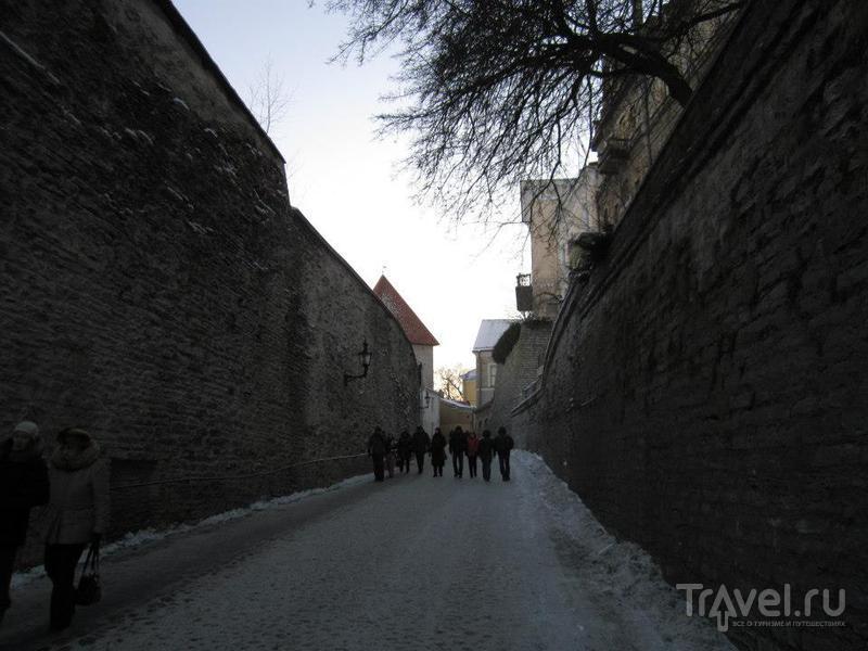 Улица Длинная нога (Pikk Jalg) в Таллине / Фото из Эстонии