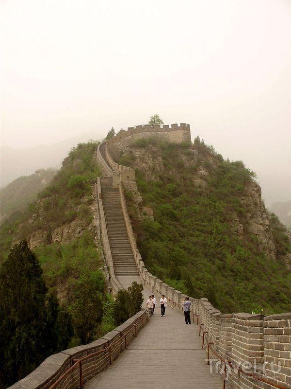 Великая Китайская стена - участок Цзюйюнгуань / Фото из Китая