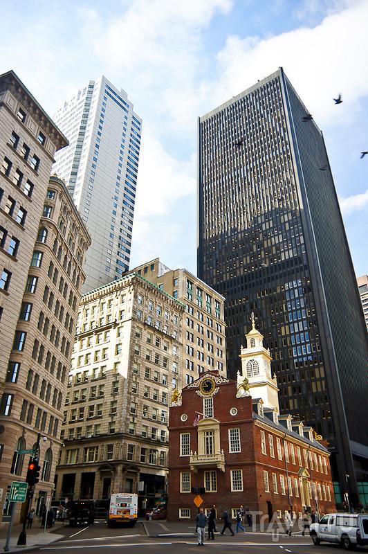 Старое здание парламента (Old State House) в Бостоне / Фото из США