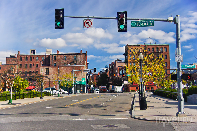 Район North End в Бостоне / Фото из США