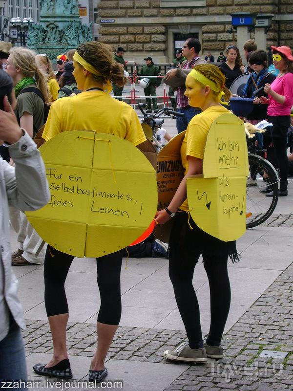 Гамбург, немного местной оппозиции и прочих варламовых / Германия
