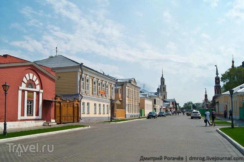 Улица Лажечникова в Коломне / Фото из России
