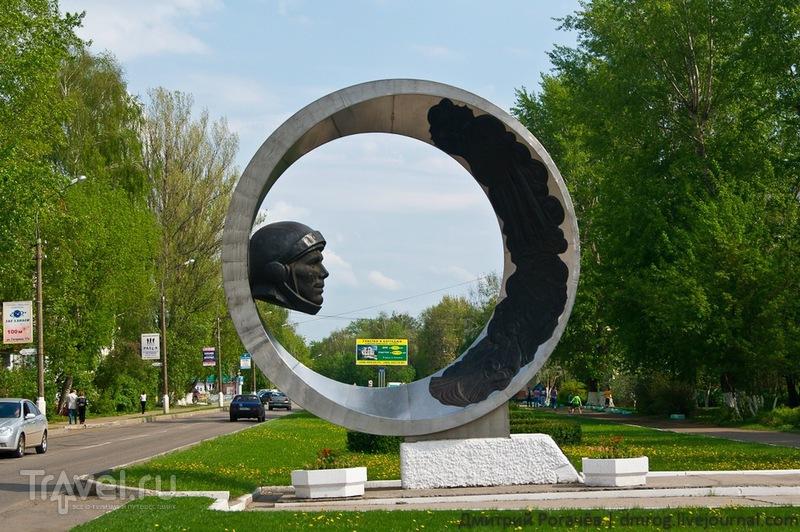 Памятник Гагарину в Коломне / Фото из России