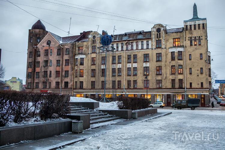 Дом купца Москвина в Выборге / Фото из России