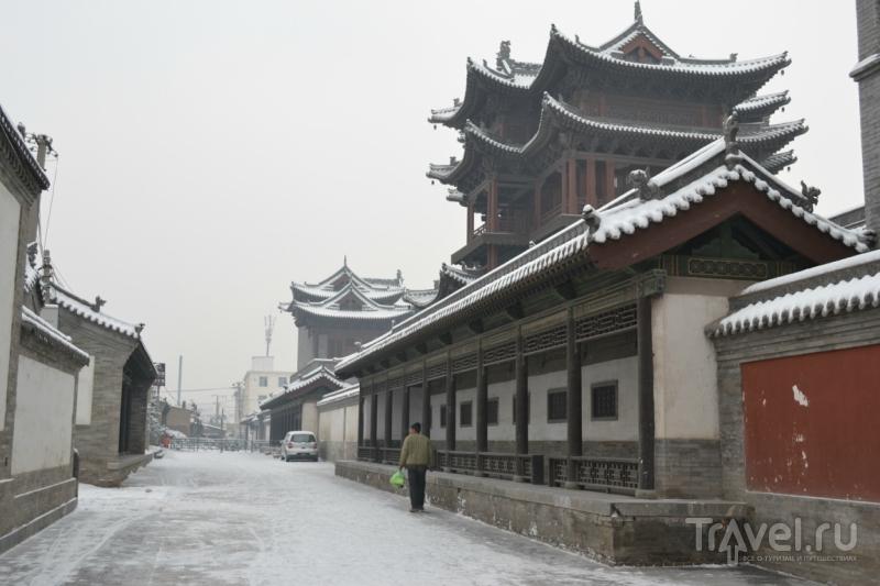 Улицы старого Датуна / Китай