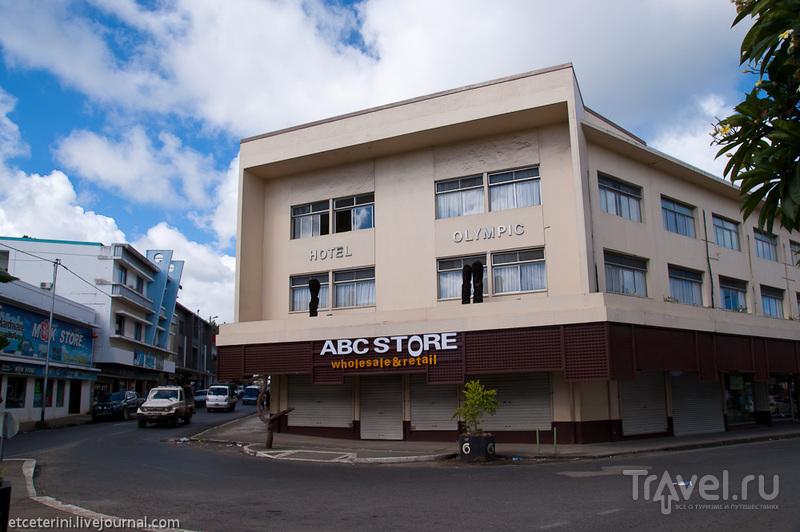 Отель Олимпик в Порт-Вила, Вануату / Фото из Вануату