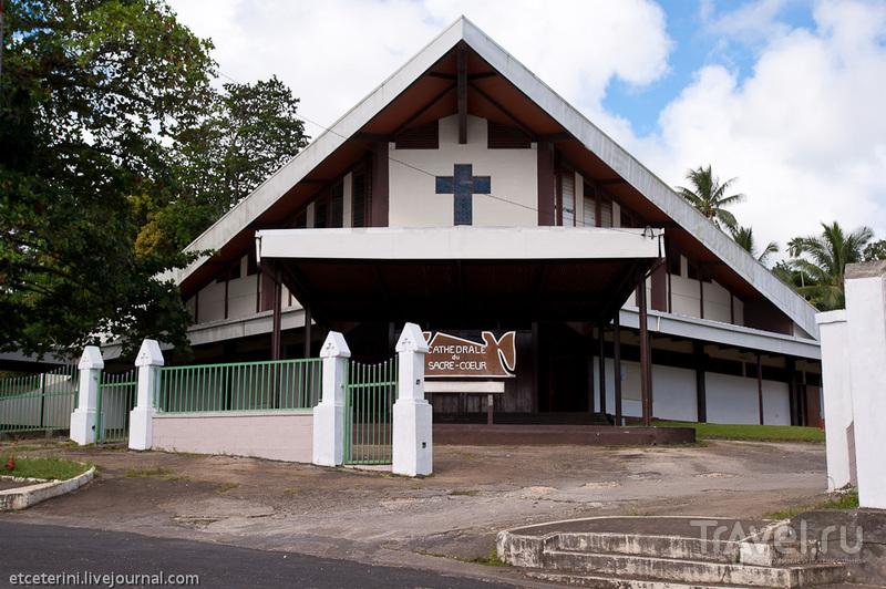 Собор святого сердца в Порт-Вила, Вануату / Фото из Вануату